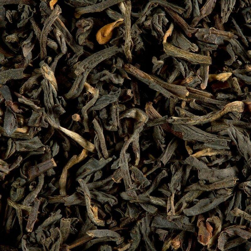 loose black tea smokey tarry bag 1 kg damman frere