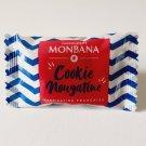 lot 50 monbana chocolate nougatine mini cookies