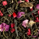 loose green tea strawberry pistachio bag 500 gr damman frere