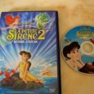 dvd disney The Little Mermaid 2: back to the ocean in good condition