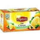 lot 3 x 25 tea bags Lemon Lipton