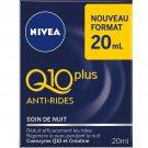lot 3 NIVEA Q10 night face cream 20 ml