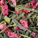 loose green tea strawberry pistachio bag 50 gr damman frere