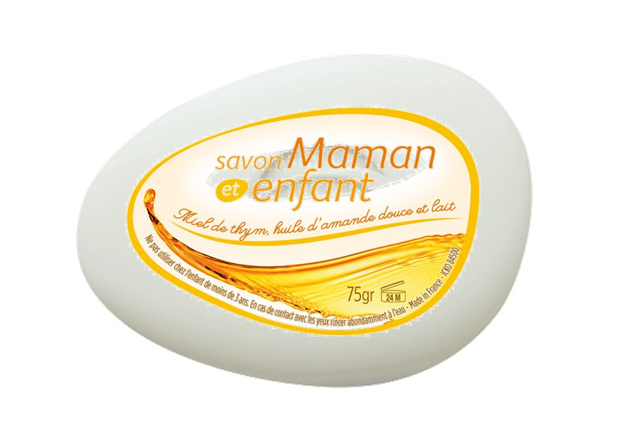 lot 3 Mother and Child Soap, Honey and Milk - 75g