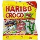 lot 3 Croco Pik candies 120 gr haribo