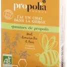 Organic rosemary honey propolis chewing gum 45 gr