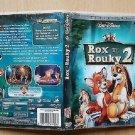 dvd disney Rox and Rouky 2 like new