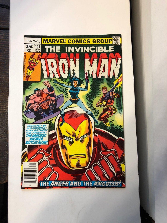 Invincible Iron Man #104