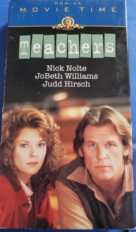Teachers VHS Video Tape Nick Nolte JoBeth Williams Judd Hirsch
