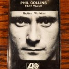 Phil Collins of Genesis Face Value 1981 Cassette Tape