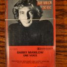 Barry Manilow One Voice 1979 Cassette Tape