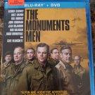 The Monuments Men Blu Ray + DVD George Clooney Matt Damon Bill Murray John Goodman