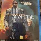 Man On Fire Blu Ray + DVD Denzel Washington Christopher Walken Dakota Fanning