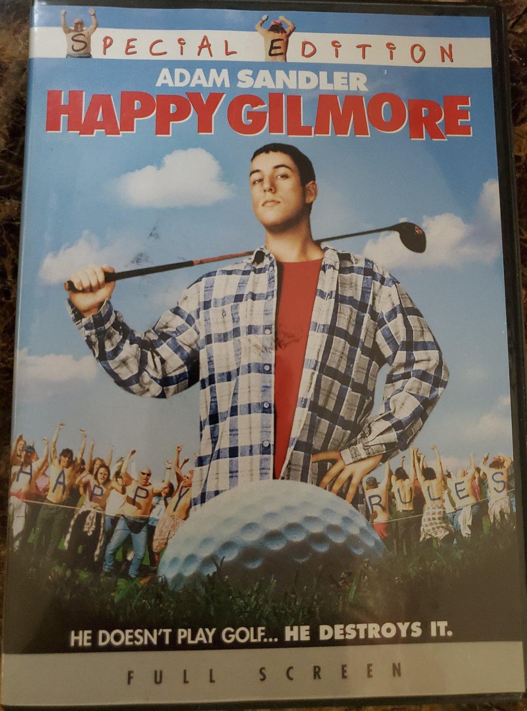 Happy Gilmore DVD Special Edition Adam Sandler Carl Weathers