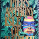 Piers Anthony Isle Of Woman Hardcover 1st Edition 1993 Novel of Human History