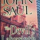 John Saul The Devil's Labyrinth 1st edition Hardcover Horror Thriller