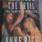 Anne Rice Memnoch The Devil 1st edition Hardcover Horror Vampire Chronicles Book 5