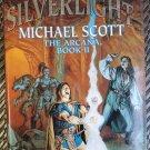Silverlight The Arcana Book II Morgan Llywelyn Michael Scott 1st Edition Hardcover Dustjacket