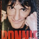 RONNIE Ron Wood Of The Rolling Stones Autobiography 1st US Edition Hardcover