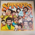 Happiness Is Being With THE SPINNERS Rubberband Man Album LP Record Vinyl 1976