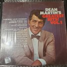 Dean Martin's Greatest Hits Volume 1 33 RPM Vinyl LP Record 1968