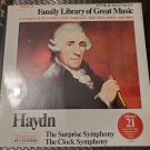 Funk & Wagnall's Family Library Of Great Music Haydn Album 21 LP Record