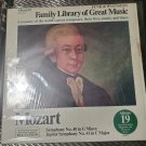 Funk & Wagnall's Family Library Of Great Music Mozart Album 19 LP Record