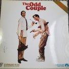Video Laserdisc The Odd Couple Movie Walter Matthau Jack Lemmon Neil Simon