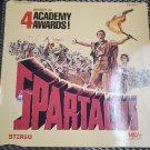Video Laserdisc Spartacus Kirk Douglas Peter Ustinov  Tony Curtis