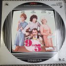 Video Laserdisc 9 to 5 Nine To Five Dolly Parton Jane Fonda Lily Tomlin