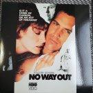 Video Laserdisc No Way Out Kevin Costner Gene Hackman