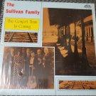 The Sullivan Family The Gospel Train Is Coming Bluegrass LP 33 RPM Record Vinyl