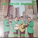 The Miller Brothers Detroit Blues LP 33 RPM Record Vinyl