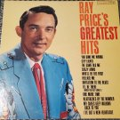 Ray Price's Greatest Hits Columbia CL1566 Country & Western LP 33 RPM Record Album Vinyl 1963
