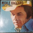 Merle Haggard Ramblin' Fever Country Music 33 RPM LP Vinyl Record Track List