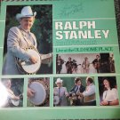 Ralph Stanley & Friends Live at the Old Home Place Autographed Signed LP Record Vinyl 33 RPM