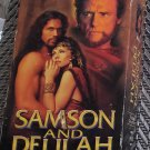 VHS 2 Video Tape VHS Set Bible Movie Samson And Delilah Dennis Hopper