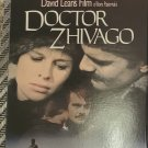 Movie 2 Video Tape VHS Set Doctor Zhivago Omar Sharif