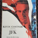 Movie 2 Video Tape VHS Set Oliver Stone's JFK Kevin Costner