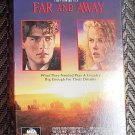 Movie Video Tape VHS Far And Away Tom Cruise Nicole Kidman