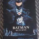 Movie Video Tape VHS Batman Returns Michelle Pfeiffer Michael Keaton Danny DeVito