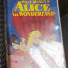 Movie Video Tape VHS Walt Disney's Alice In Wonderland Animated