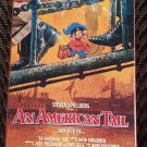 Movie Video Tape VHS Steven Spielberg's An American Tail