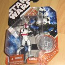 Star Wars 30th Anniversary / Saga Legends : Clone Trooper Officer - Captain (Red)