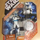 Star Wars 30th Anniversary / Saga Legends : Clone Trooper Officer - Lieutenant (Blue)