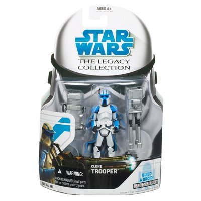 Star Wars - Legacy Collection : Clone Trooper (Cip Quad)