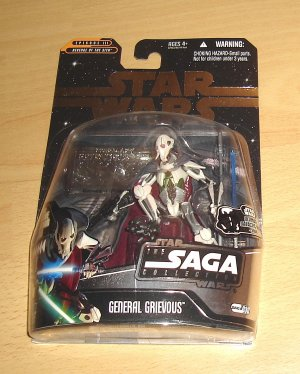 Star Wars - The Saga Collection : UGH General Grievous w/ Silver Mini Figure