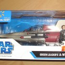 Star Wars - Legacy Collection : Green Leader's A-Wing Fighter w/ Arvel Crynyd