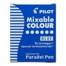 Pilot IC-P3-S6 Parallel Pen Refills (6 refills per pack) - Blue #9707