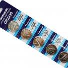 Panasonic CR2330 3V Lithium Cell Battery (Pack of 5) #3695